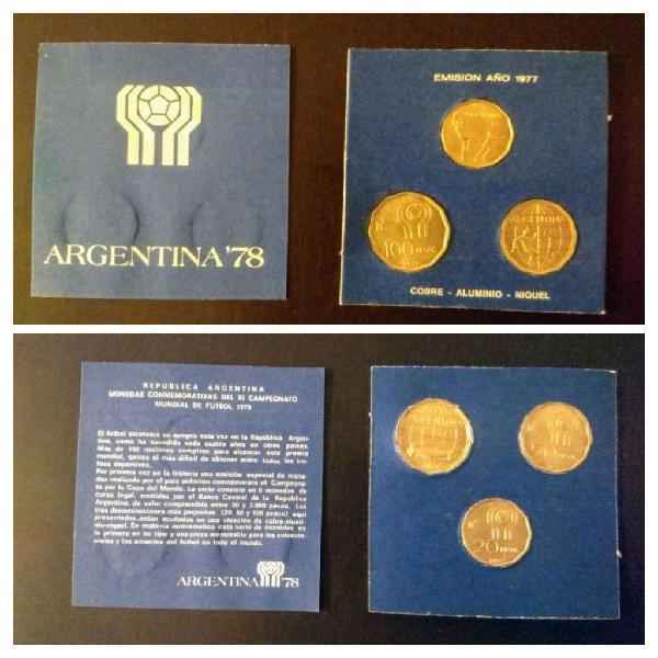 Moneda argentina mundial 1978