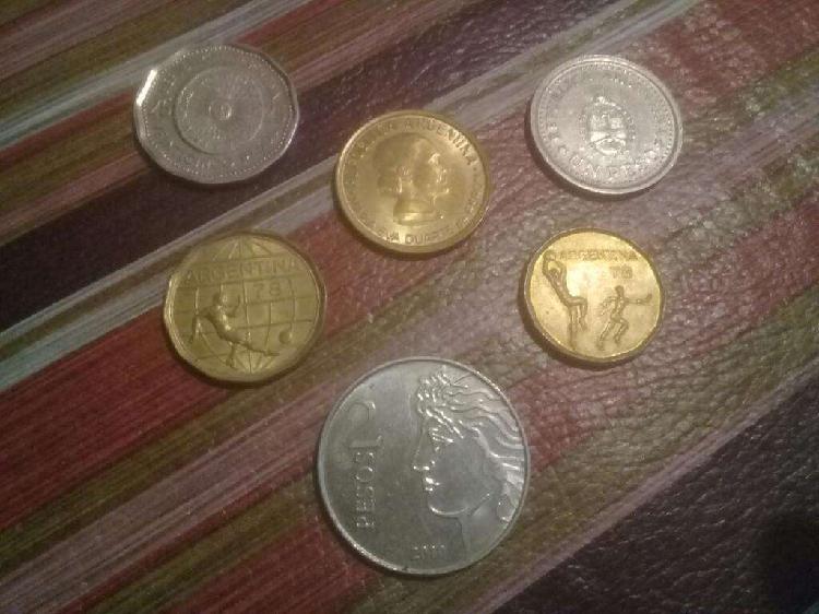 Monedas argentinas!!