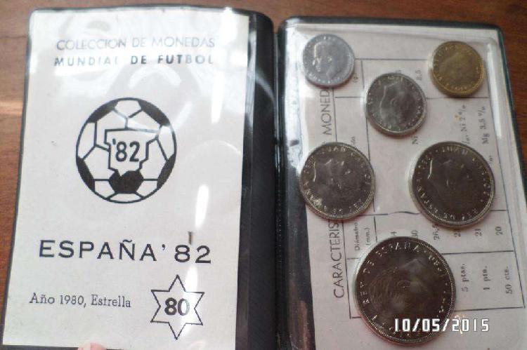 Monedas de españa mundial 82