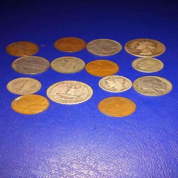 Monedas antiguas de eeuu