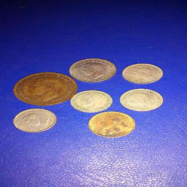 Monedas antiguas de gran bretaña