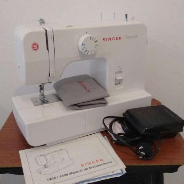 Maquina de coser singer promise 1408 - como nueva