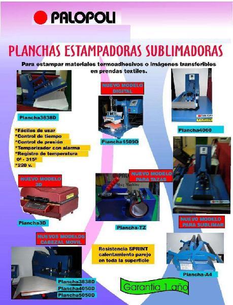 Sublimadora plancha estampar/sublimar palopoli 38x38cm