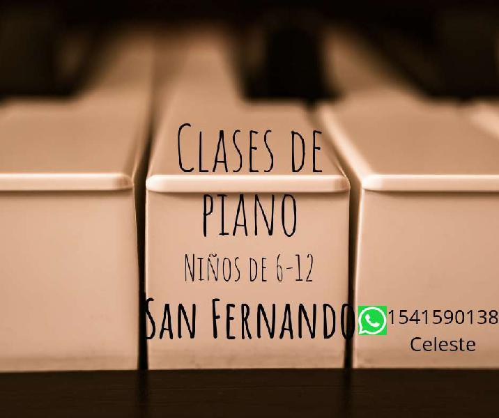 Clases Particulares De Piano Para Niños