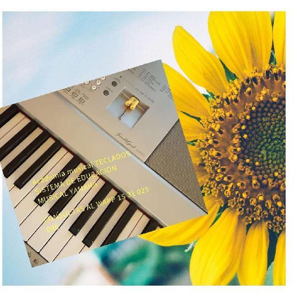 Clases de piano organo teclado