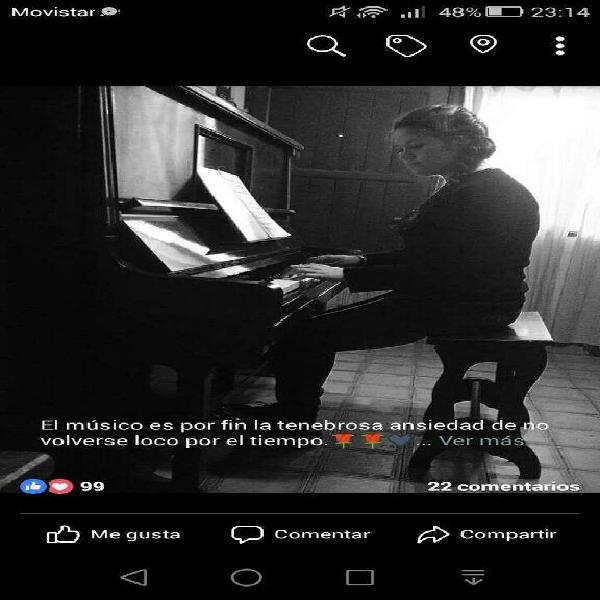 Clases de Piano Y Música