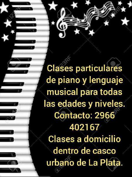 Doy Clases de Piano Y Lenguaje Musical
