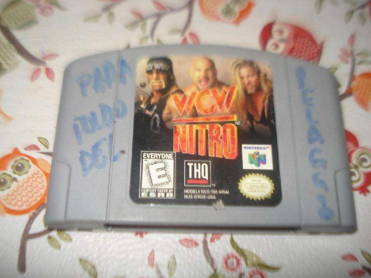 Juegos Dos Nintendo 64 Wcw Nitro Y 007 World Is Not Enough