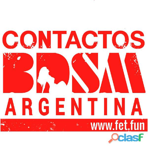 Comunidad bdsm argentina!