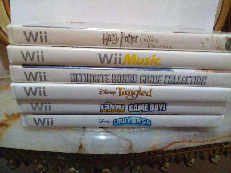 Lote juegos originales nintendo wii - insertcoin