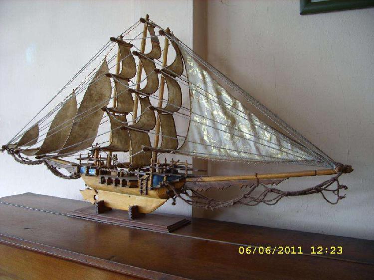 Barco hecho a mano