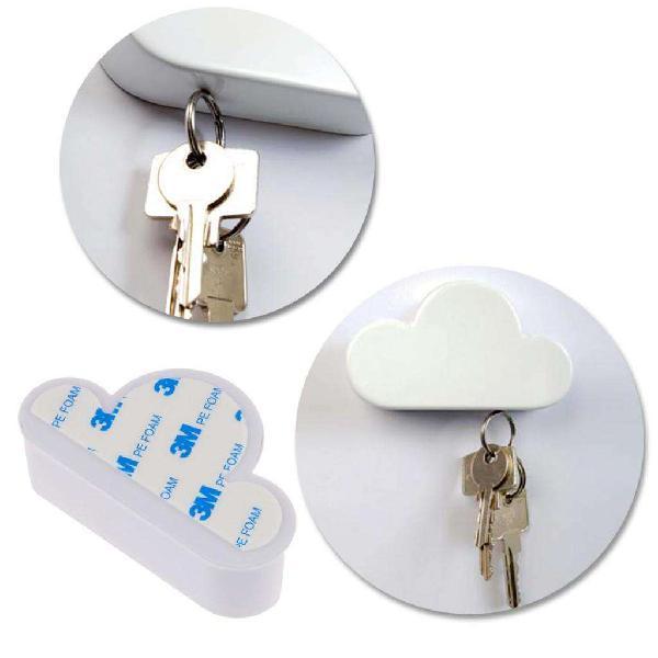 Porta llaves nube magnetica imantada llavero cuelga iman