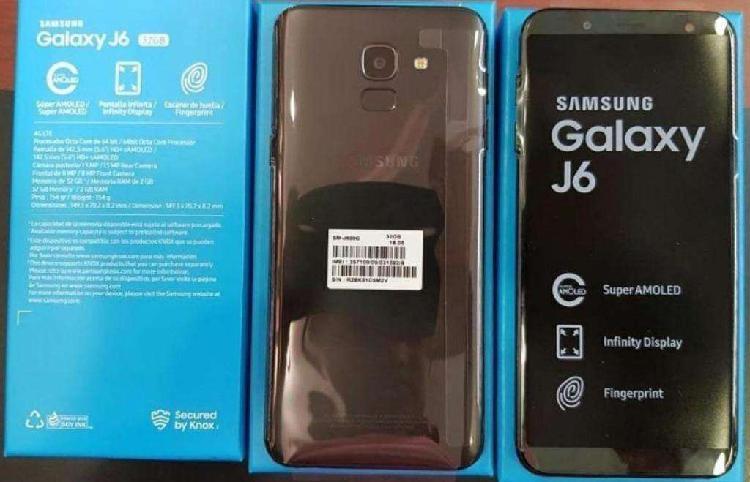Samsung galaxy j6 2018 libre 32gb nuevo