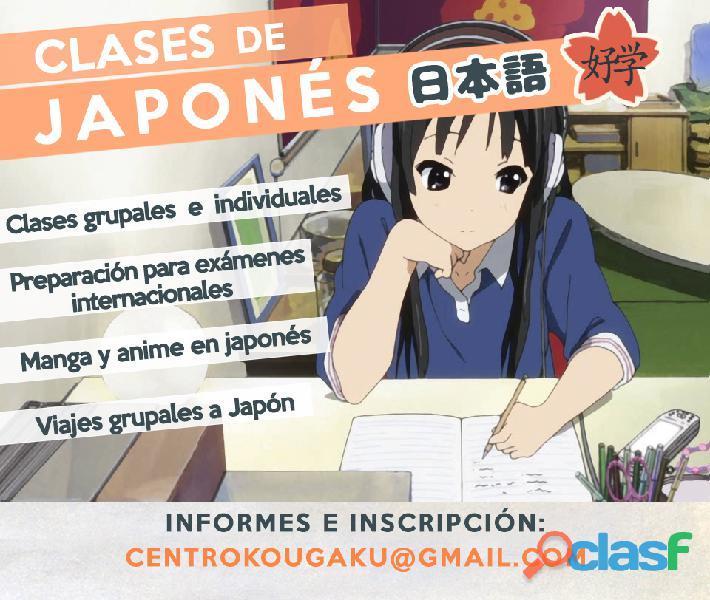 Clases de japonés en banfield