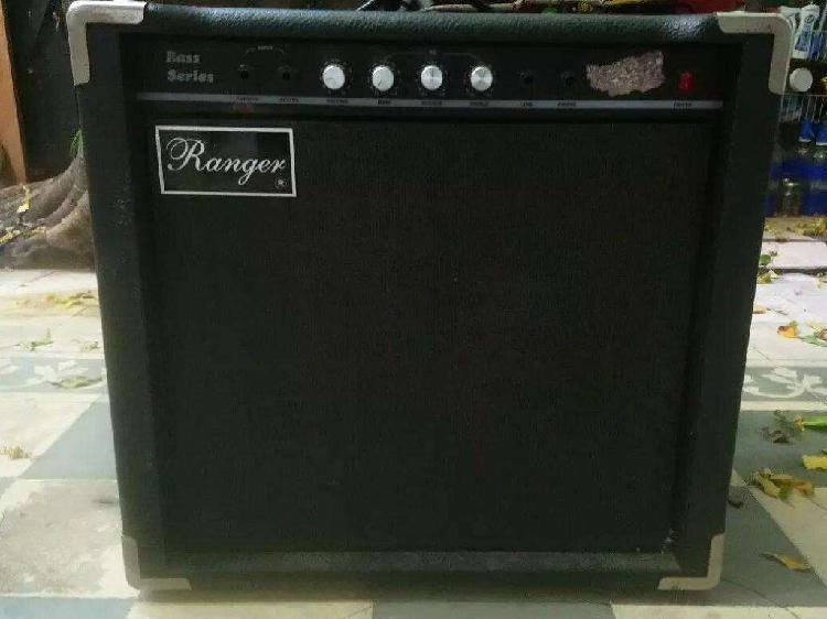 Amplificador bajo ranger rb40 40watts reales c/muy poco uso