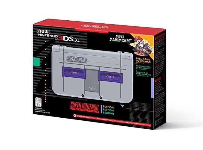 Nintendo 3DS SNES EDITIONACCESORIOS