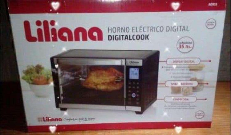 Horno Electrico Digital Liliana 35 Lts