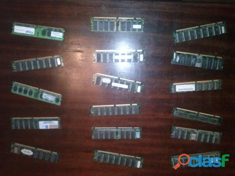 Módulos de memoria para placa madre venta x unidad