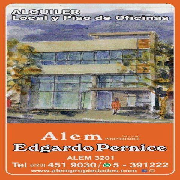 Alquiler local y oficinas, en block o separado, opcional con