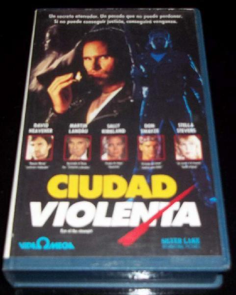 Ciudad violenta película vhs p1993 subtítulos:castellano