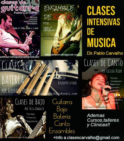 Clases intensivas de musica en la union (ezeiza)
