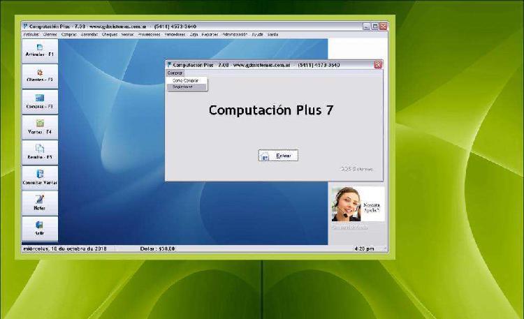 Computación plus 7:·: programa de gestión y