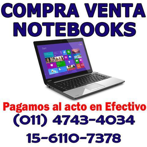 Compra y venta de notebook usadas
