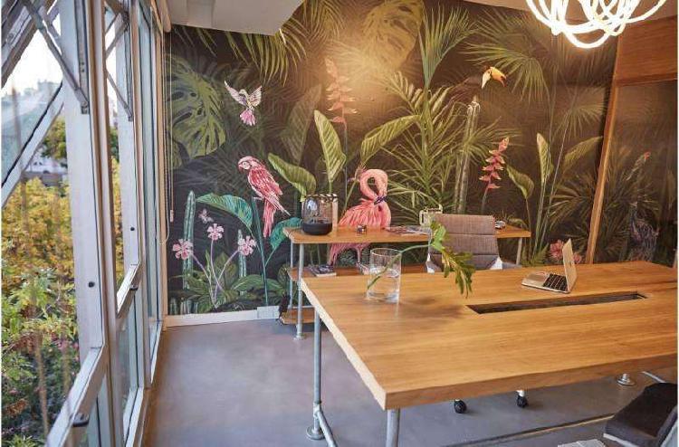 Hermosa oficina en alquiler en nuñez amoblada con cochera