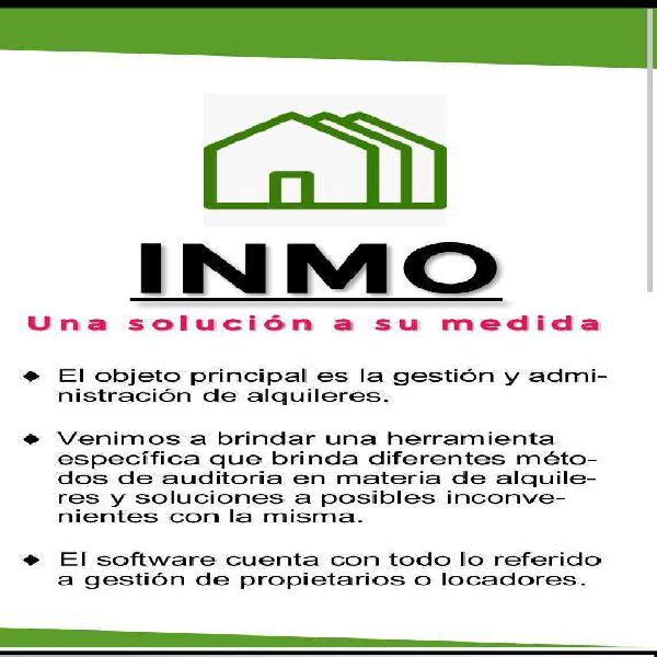 Inmo software gestión inmobiliaria web