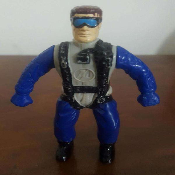 Max steel, jackie chan y policía de swat figuras de acción