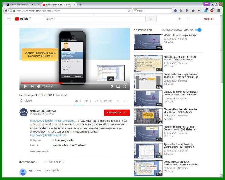 Software gds sistemas::··:: nuevo módulo pedidos por