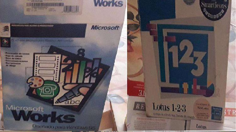 Software works lotus 123 originales una reliquia