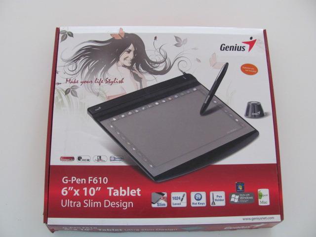 Tablet genius g-pen f610 - nueva - tableta digitalizadora