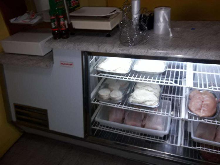 Vendo heladera mostrador exelente estado