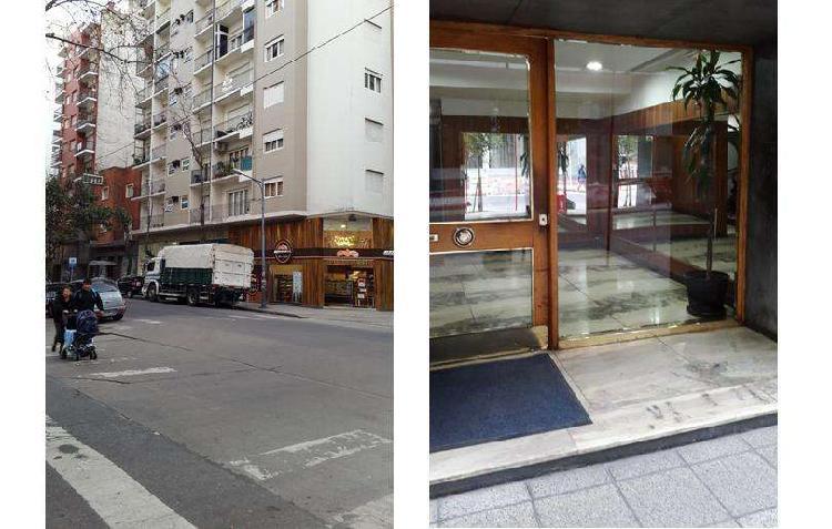 Amplio departamento, con balcon a la calle zona de plaza