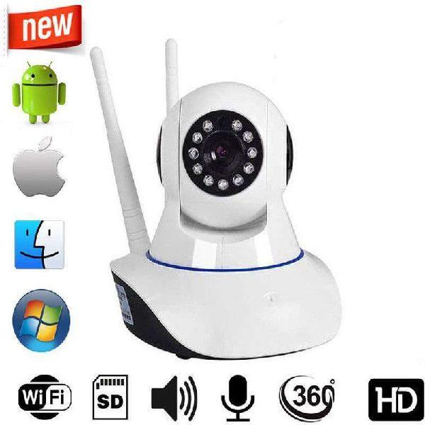 Camara seguridad ip 360 c/ sonido (jt-110bw-2a)