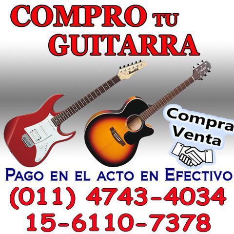 Compra y venta de guitarras compro