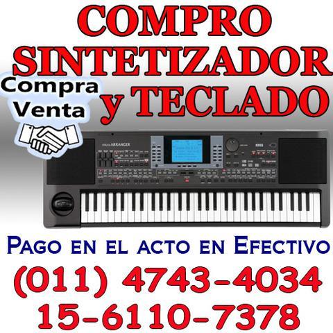 Compra y venta de teclados organos sintetizador