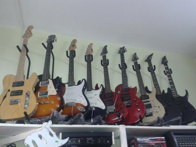 Guitarras electricas nuevas y usadas en venta