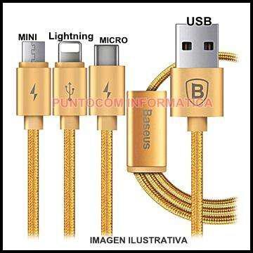 Multi cable premiun cargador celulares iphone