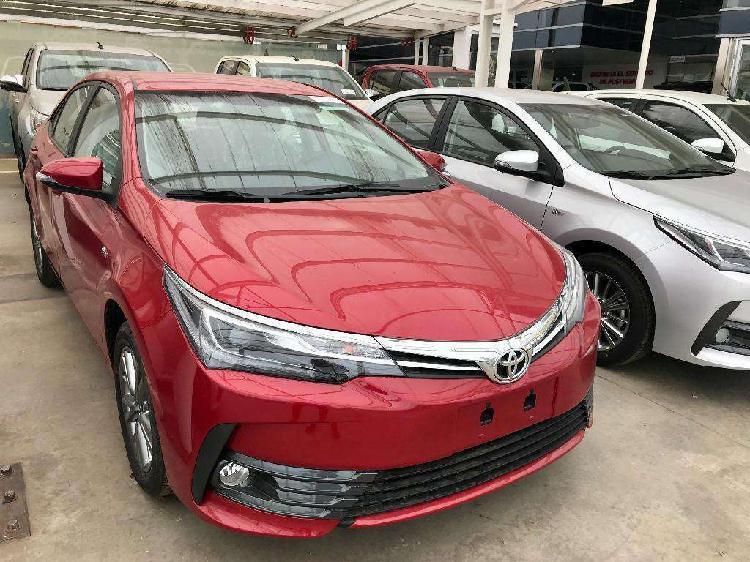 Toyota corolla 1.8 xei l/17 cvt cuero 2019