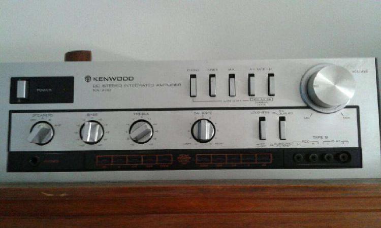 Amplificador kenwood ka 400