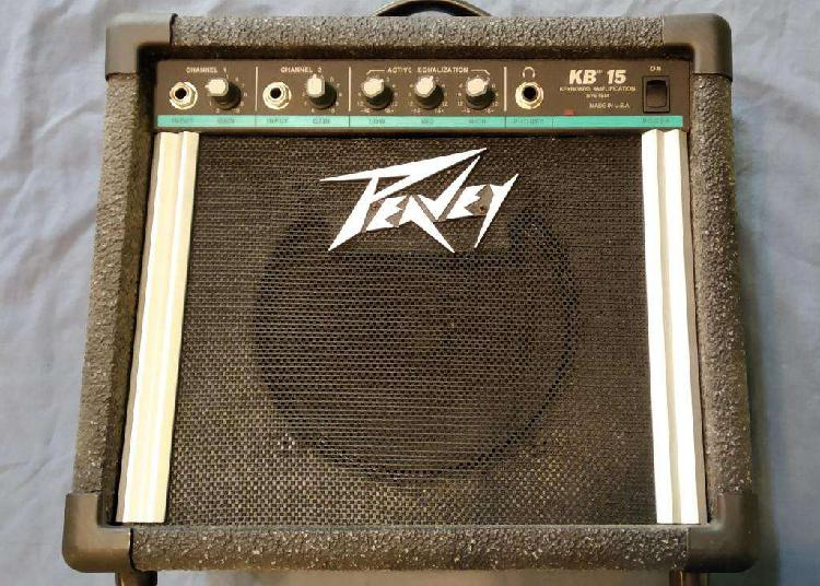 Amplificador peavey kb 15 - multipropósito - made in usa -