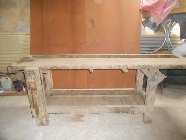 Banco para carpintero
