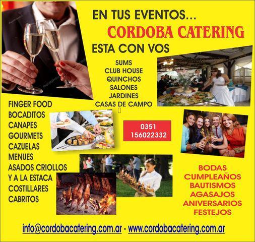 Catering eventos sociales
