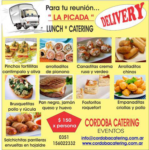 Catering * lunch * picadas