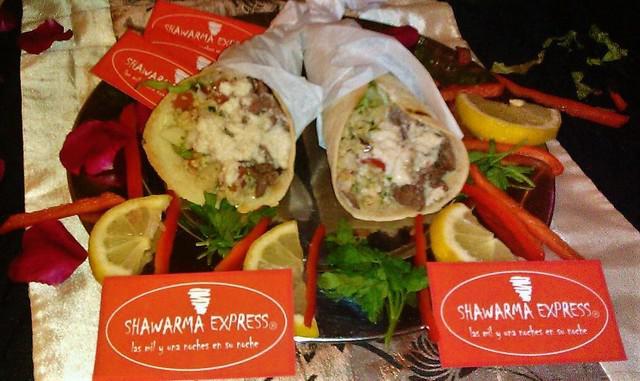 Catering shawarma express comida arabe a domicilio