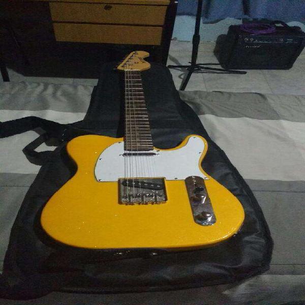 Guitarra mas amplificador para principia