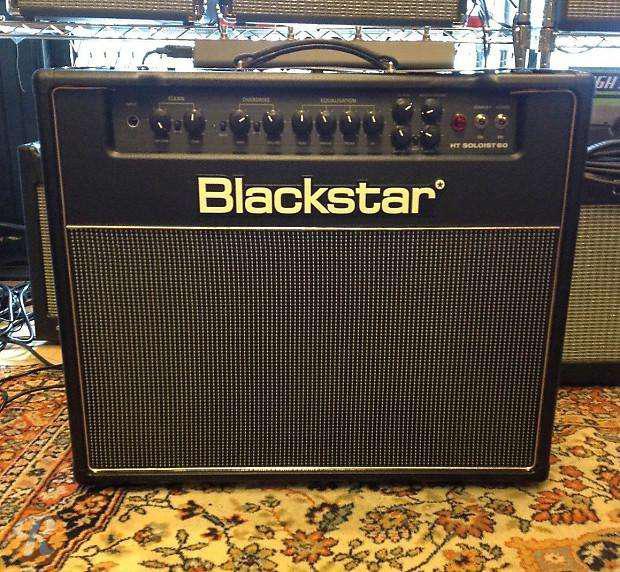 Impecable amplificador guitarra valvular blackstar ht