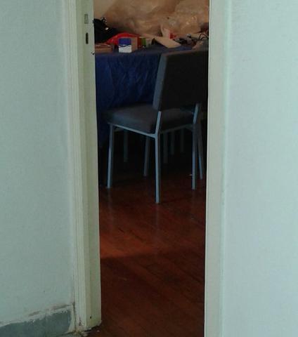Juego muebles comedor. mesa c/ 6 sillas.